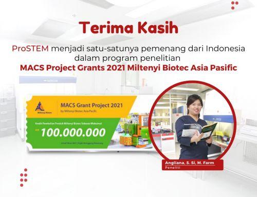 ProSTEM Menjadi Satu-satunya Pemenang dari Indonesia dalam MACs Grant Project 2021 Asia Pacific